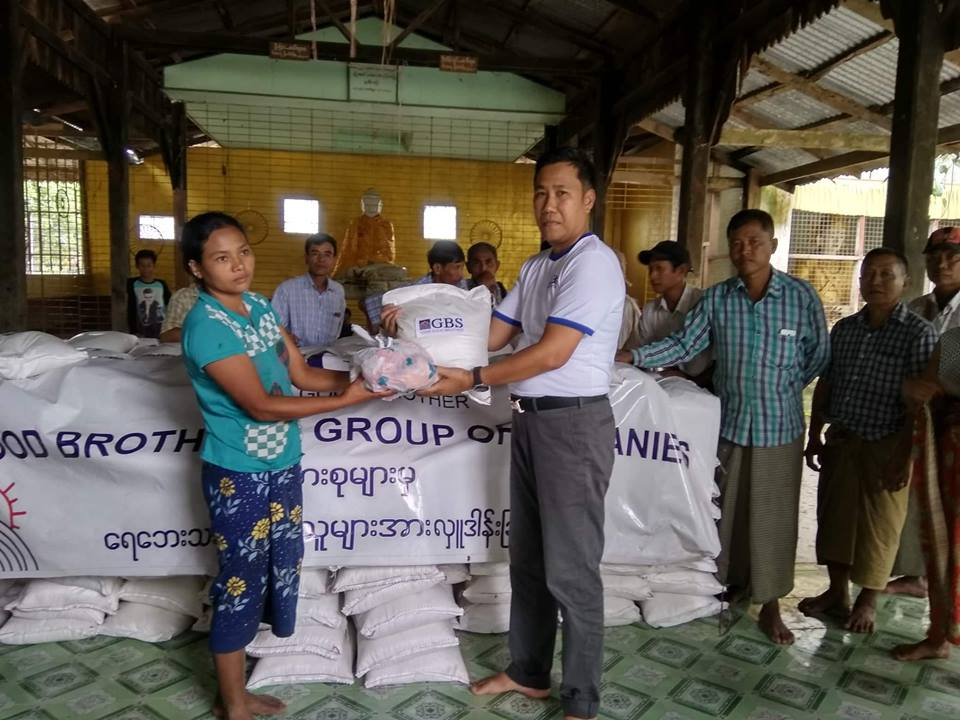Donation to Flood Relief (Photo 1)