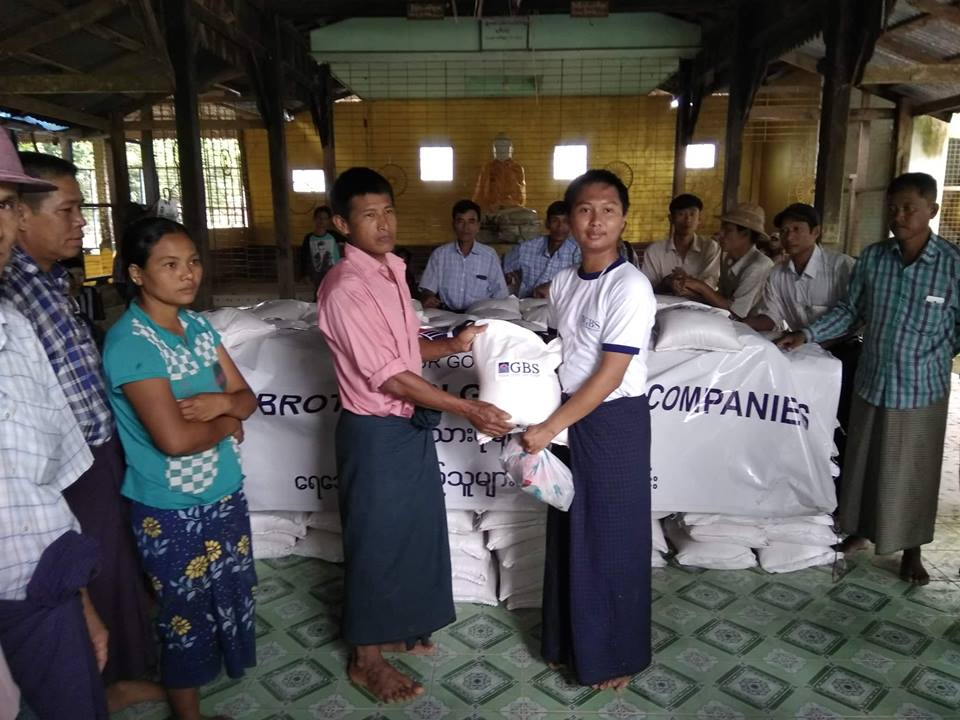 Donation to Flood Relief (Photo 2)