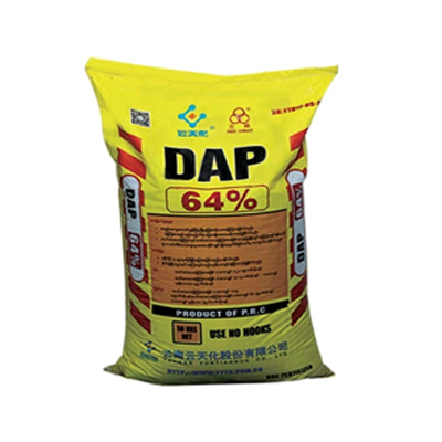 Three Circles Brand Fertilizer : DAP (N-18, P2 O5 - 64%)+TE (Diammonium Phosphate)