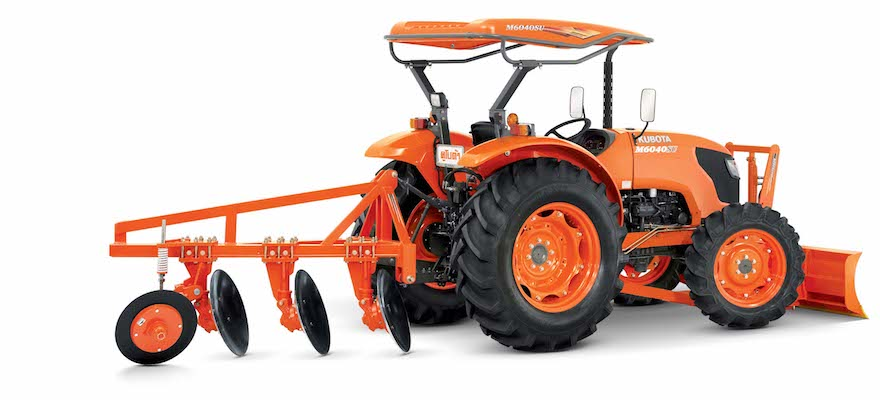 Kubota Brand Four Wheel Tractor : M6040