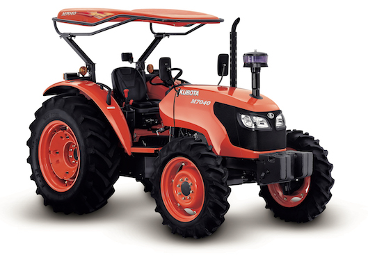Kubota Brand Four Wheel Tractor : M7040