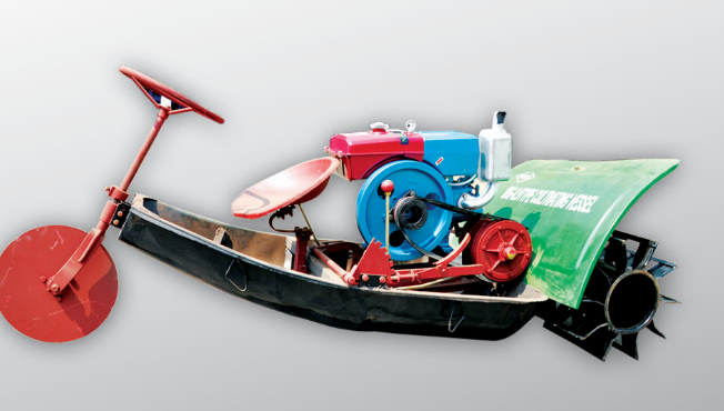 Chao Niu Brand Cultivating Roller Boat (1BG-0.9)