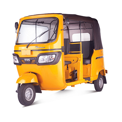 TVS KING DELUXE GS+ (Yellow)